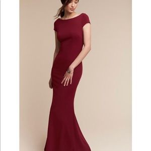 Katie May - Madison Dress in Bordeaux